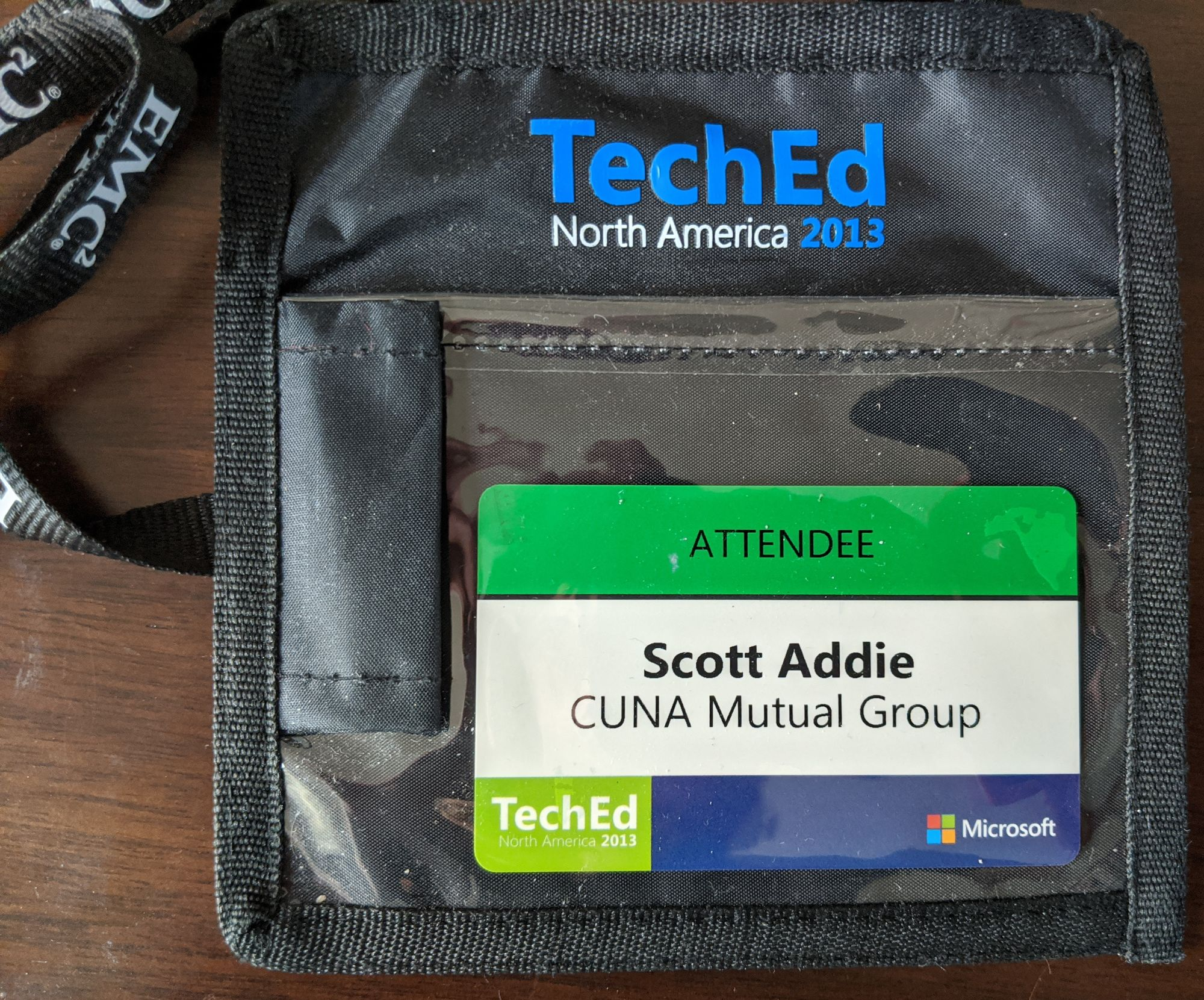 TechEd 2013 badge