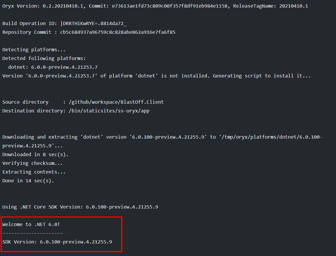 Upgrading a Blazor WebAssembly Azure Static Web App from .NET 20 to ...